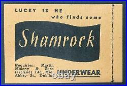 Momen Ireland Sg #sb7 1946-7 Booklet Pane Mint Og Nh £750 Lot #62535