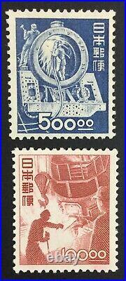 Momen Japan Sc #435-436 Mint Og Nh $1,050 Lot #61792