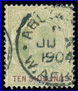Momen Lagos Sg #53 1904 Crown Ca Used Signed Lot #60101
