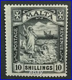 Momen Malta Sg #104 1922 Mint Og Nh Lot #194334-2885