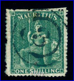 Momen Mauritius Sg #55 1862 Used Lot #60096