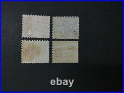 Momen Mauritius Sg #59,63,66,69 Crown CC Mint Og H Lot #194730-2932