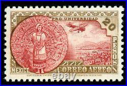 Momen Mexico Sc #c61 1934 Mint Og Lh Lot #61274