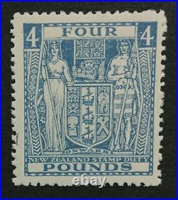 Momen New Zealand Sg #f166 £4 1935 Mint Og Lh Lot #194539-3181