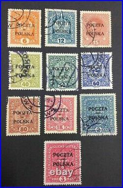 Momen Poland 1919 Used Signed Lot #62779
