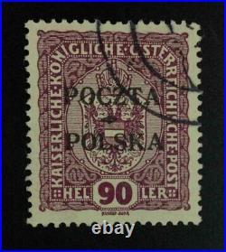 Momen Poland Sc #50 1919 Used Cert Lot #62782