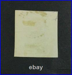 Momen Portugal Sc #4 1853 Imperf Used Cat. $1,900 Lot #62581