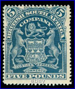 Momen Rhodesia Stamps Sg #92 1901 Mint Og H