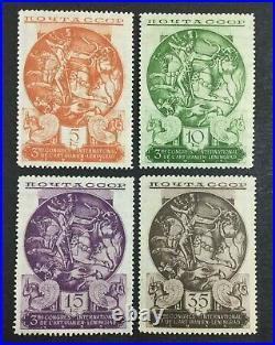Momen Russia Sc #569-572 1935 Mint Og Nh Lot #62559