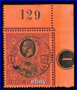 Momen Sierra Leone Sg #128 1912-21 Used Lot #60037