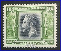 Momen Sierra Leone Sg #179 1933 Mint Og H Lot #60509