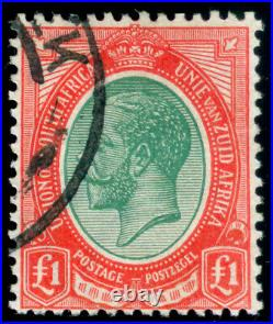 Momen South Africa Sg #17 1916 Used Lot #60031