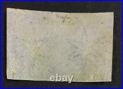 Momen St Helena Sg #1 1856 Imperf Pair Mint Og H Lot #60409