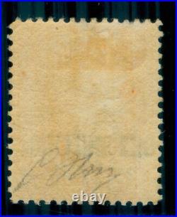 Momen St. Lucia Sg #29 1882-4 P14 Mint Og H Cert Lot #60358
