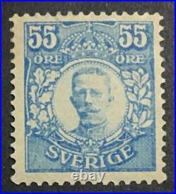 Momen Sweden Sc #90 1918 Mint Og H Cert Lot #62665