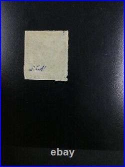 Momen Trinidad Sg #18 Slate-blue 1858 Used £650 Lot #61939