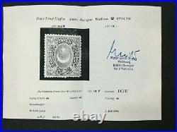 Momen Turkey Sc #47 1876 Mint Og H Cert Lot #63265