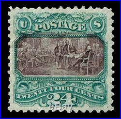 Momen US Stamps #130 Mint OGph PSE Graded XF-90