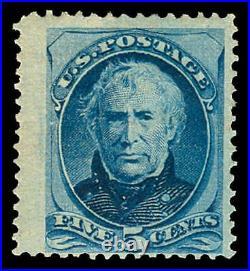 Momen US Stamps #185 Mint OG Jumbo PF Cert