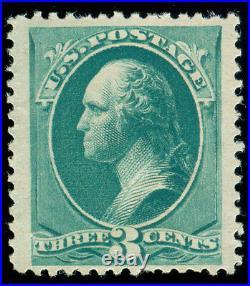 Momen US Stamps #207 MINT OG NH VF JUMBO