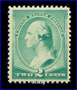 Momen US Stamps #213 Mint OG NH VF+ PF Cert