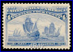 Momen US Stamps #233 Mint OG NH PSE Graded XF-SUP 95J