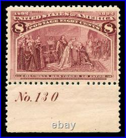Momen US Stamps #236 Mint OG NH PSE Cert VF/XF