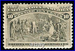 Momen US Stamps #237 MINT OG NH VF+