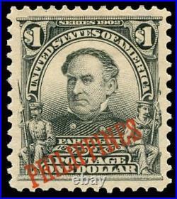 Momen US Stamps #237 Philippines Mint OG PF Cert XF