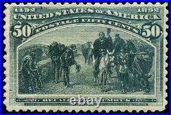 Momen US Stamps #240 Mint OG NH VF App
