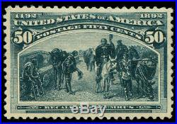Momen US Stamps #240 Mint OG PSE Graded XF-Sup 95
