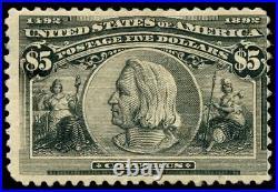 Momen US Stamps #245 Mint OG F/VF