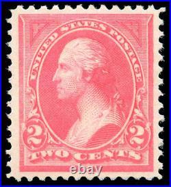 Momen US Stamps #248 Mint OG NH XF