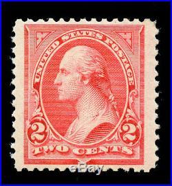 Momen US Stamps #251 Mint OG NH VF/XF JUMBO PF Cert