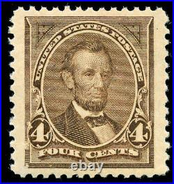Momen US Stamps #254 Mint OG NH XF JUMBO