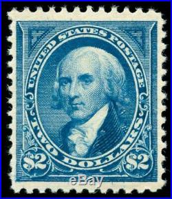 Momen US Stamps #262 Mint OG NH VF/XF PF Cert