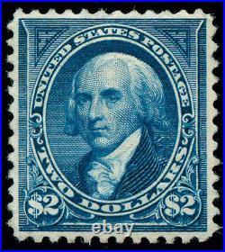 Momen US Stamps #262 Mint OG XF PF Cert