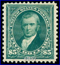 Momen US Stamps #263 Mint OG VF/XF+ PF Cert