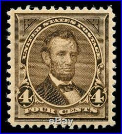 Momen US Stamps #269 Mint OG NH PSE Graded XF-SUP 95