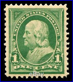 Momen US Stamps #279 Mint OG NH XF