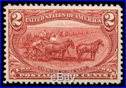 Momen US Stamps #286 Mint OG NH SUPERB Jumbo