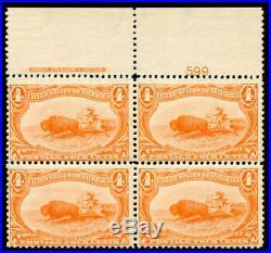 Momen US Stamps #287 Plate Block of 6 Mint OG NH F/VF