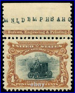 Momen US Stamps #296 Mint OG NH SUPERB Jumbo PSE Cert