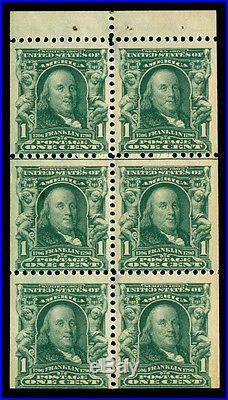 Momen US Stamps #300b Mint OG NH Booklet VF