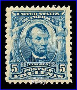 Momen US Stamps #304 Mint OG NH PSE Graded XF-SUP 95