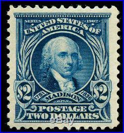 Momen US Stamps #312 Mint OG SUPERB PF & PSE Certs