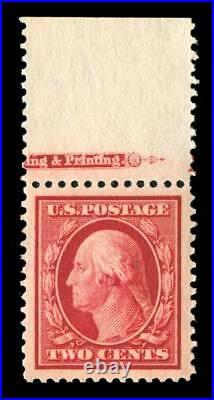 Momen US Stamps #332 Mint OG NH PSE Graded SUP-98J