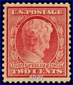 Momen US Stamps #369 Mint OG Sound