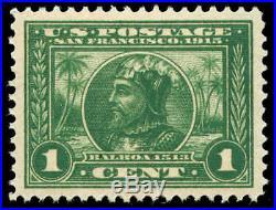 Momen US Stamps #397 Mint OG NH PF Cert XF-SUP+
