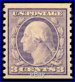 Momen US Stamps #456 Mint OG NH XF PF Cert